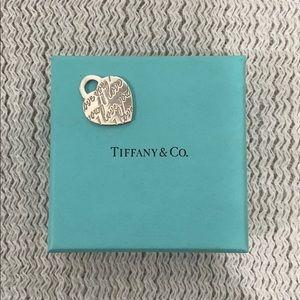 """TIFFANY & CO """"I love you"""" pendant"""